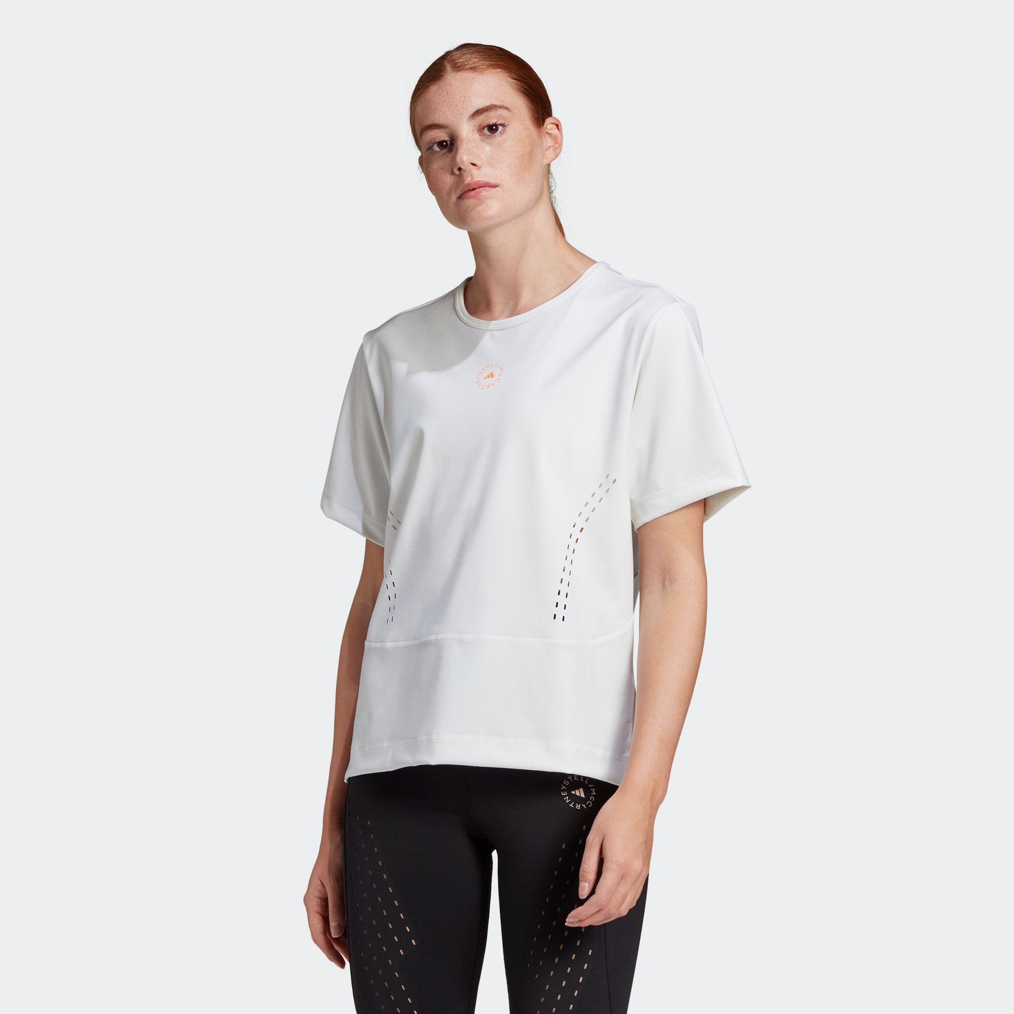 ADIDAS BY STELLA MCCARTNEY TRUESTRENGTH ルーズTシャツ