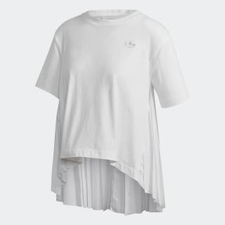 プリーツ 半袖Tシャツ
