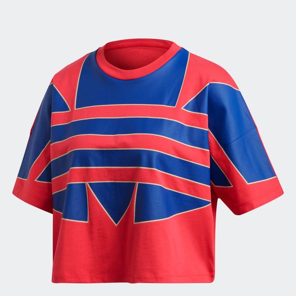 アディカラー ラージロゴ 半袖Tシャツ