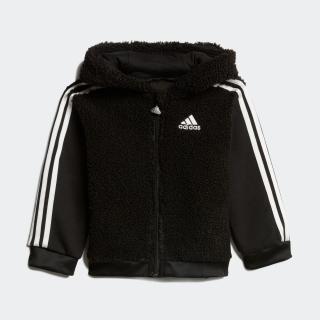 ファー フルジップ フード付きジョガーセット / Fur Full-Zip Hooded Jogger Set
