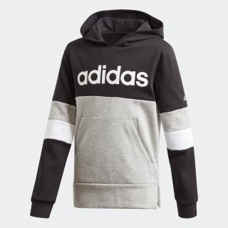 リニア カラーブロック フード付き フリース スウェットシャツ / Linear Colorblock Hooded Fleece Sweatshirt