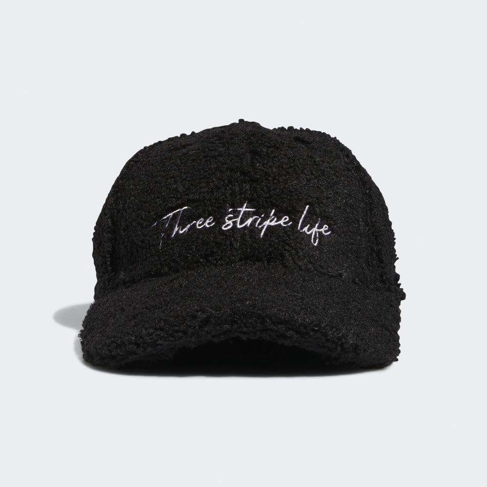 ウィメンズ ボアキャップ / Three Stripe Life Cap