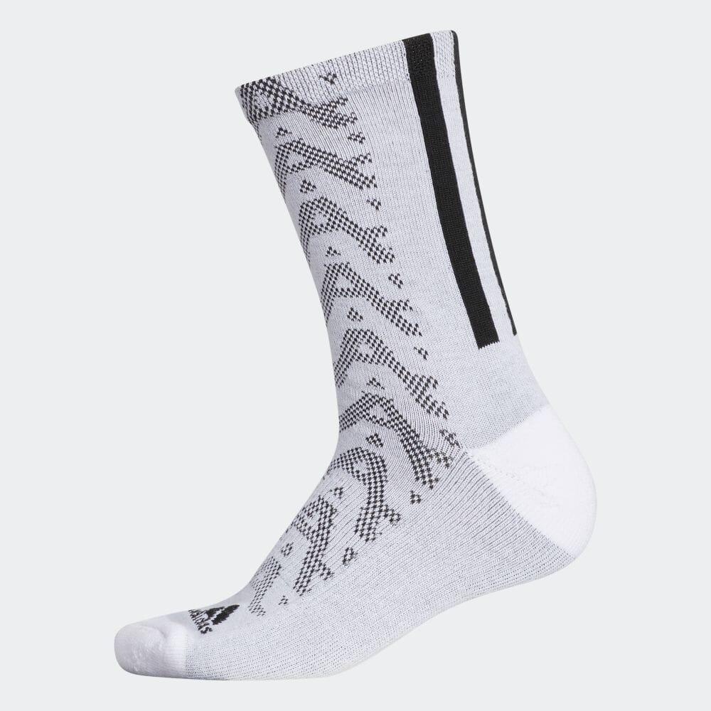 ウィメンズ グラフィックソックス クルー  / Warm Crew Socks