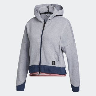 ADICROSS 長袖ショートレングス フルジップフーディー / Adicross Sweater Hoodie