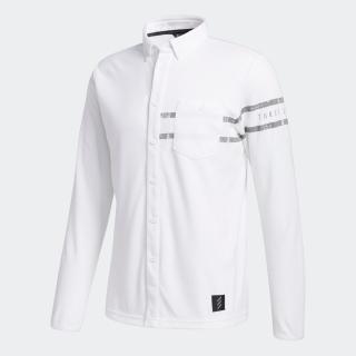 ADICROSS 長袖ボタンダウンシャツ  / Adicross Long Sleeve Polo Shirt