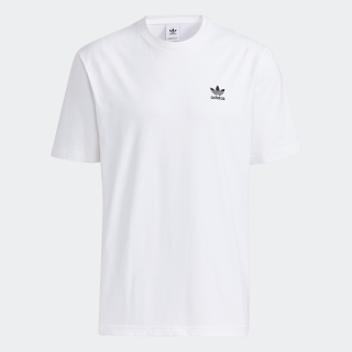 フロント&バックプリント トレフォイル ボクシー 半袖Tシャツ