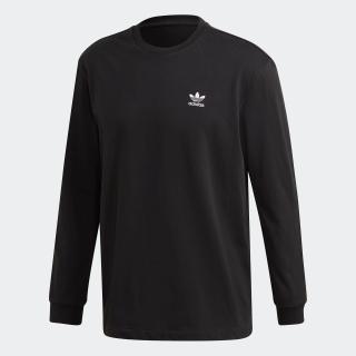 バック&フロント プリント トレフォイル 長袖Tシャツ