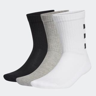 3ストライプス ハーフクッション クルーソックス 3足組 / 3-Stripes Half-Cushioned Crew Socks 3 Pairs