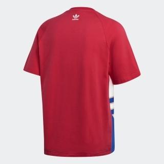 ビッグトレフォイル カラーブロック 半袖Tシャツ