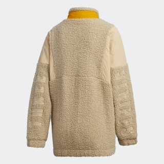 3ストライプス シェルパジャケット / Three Stripes Sherpa Jacket