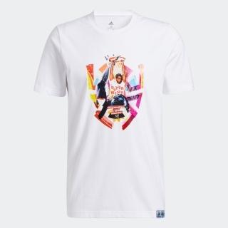 ドノバン・ミッチェル アブストラクション 半袖Tシャツ / Donovan Mitchell Abstraction Tee