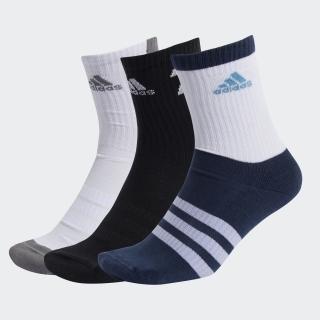 ティロ 21 3ストライプス クッション クルー ソックス 3足組み / Tiro 21 3-Stripes Cushioned Crew Socks 3 Pairs