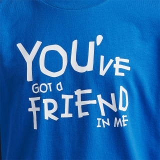 You Have A Friend In Me トイ・ストーリー半袖Tシャツ / You Have A Friend In Me Toy Story Short Sleeve Tee