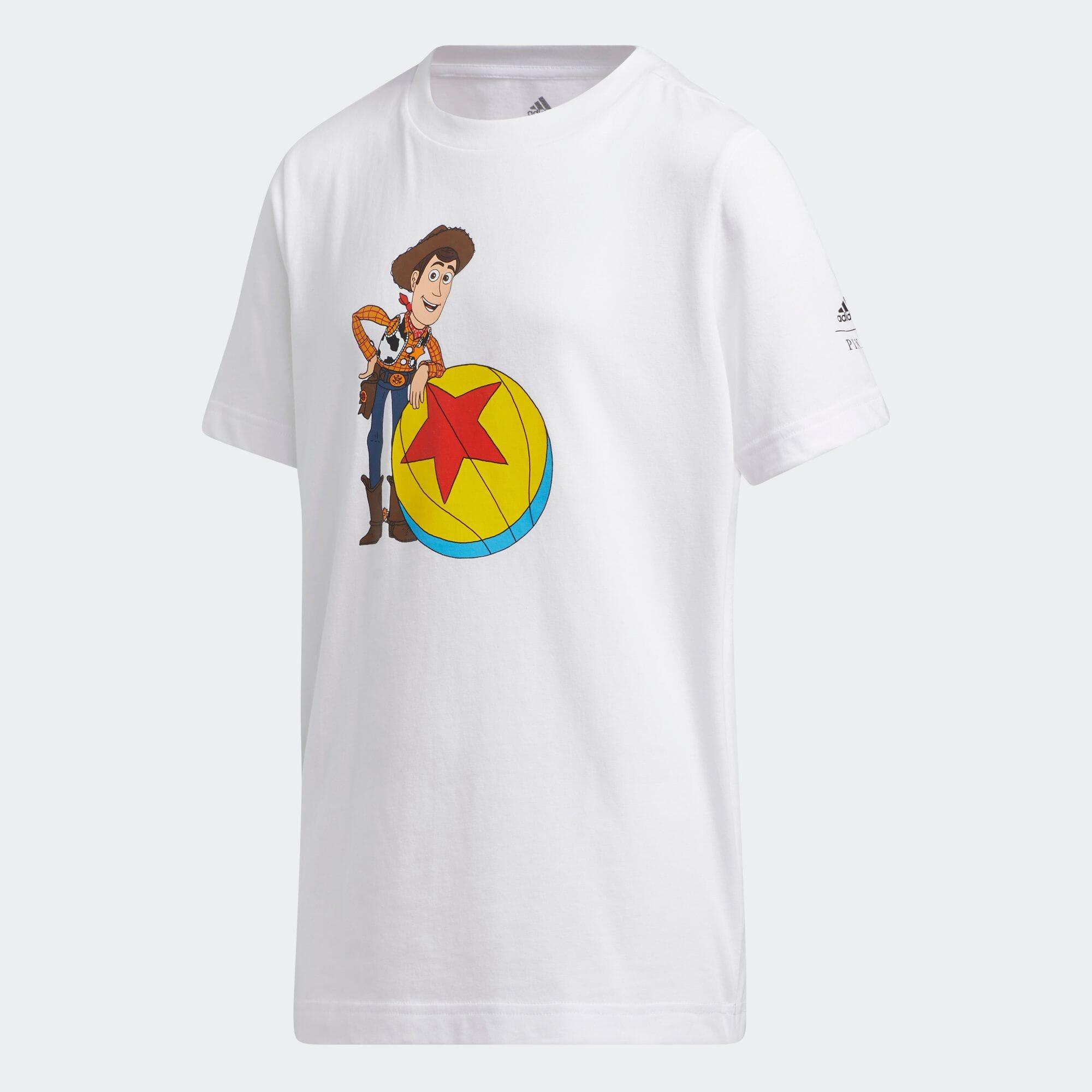 ウッディ × ルクソー バスケットボール トイ・ストーリーTシャツ / Woody × Luxo Basketball Toy Story Tee