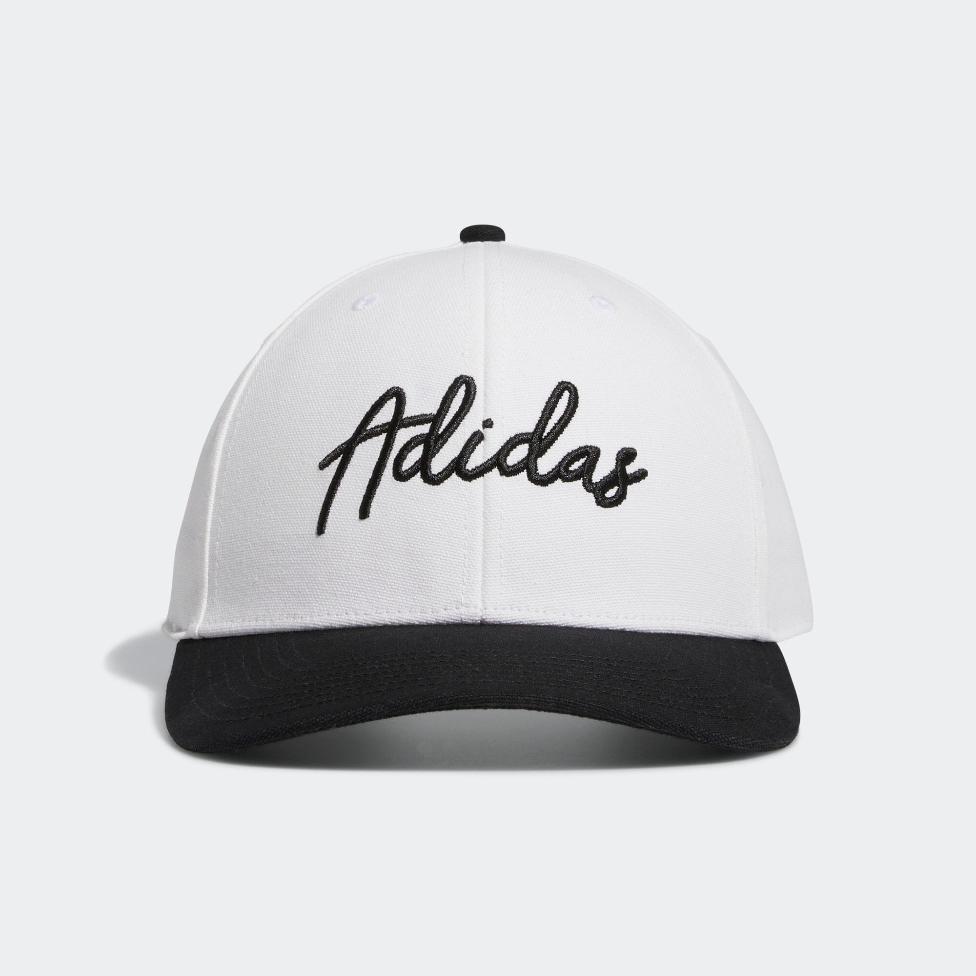 Adidasスクリプトキャップ 【ゴルフ】/ adidas Script Curved Snapback Hat
