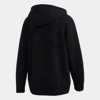 M CLASSIC WINTER KNIT HOODED FULL-ZIP HOODIE