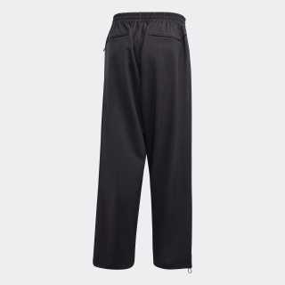 M CLASSIC REFINED WOOL STRETCH CROPPED WIDE LEG PANTS