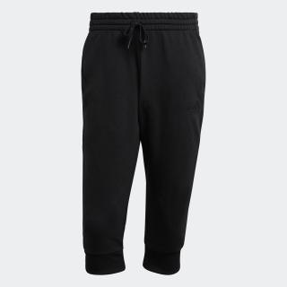 エッセンシャルズ 3ストライプス フレンチテリー テーパード カフ 3/4パンツ / Essentials 3-Stripes French Terry Tapered Cuff 3/4 Pants