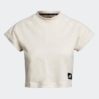 アディダス スポーツウェア リサイクルコットン クロップトップ / adidas Sportswear Recycled Cotton Crop Top