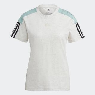 アディダス エッセンシャルズ ロゴ カラーブロック 半袖Tシャツ / adidas Essentials Logo Colorblock Tee
