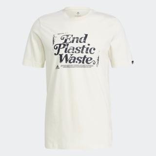 スローガン リサイクルコットン グラフィック 半袖Tシャツ / Slogan Recycled Cotton Graphic Tee