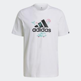 カートゥーン ロゴ グラフィック 半袖Tシャツ / Cartoon Logo Graphic Tee