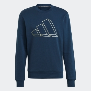 アディダス スポーツウェア グラフィック クルー スウェットシャツ / adidas Sportswear Graphic Crew Sweatshirt