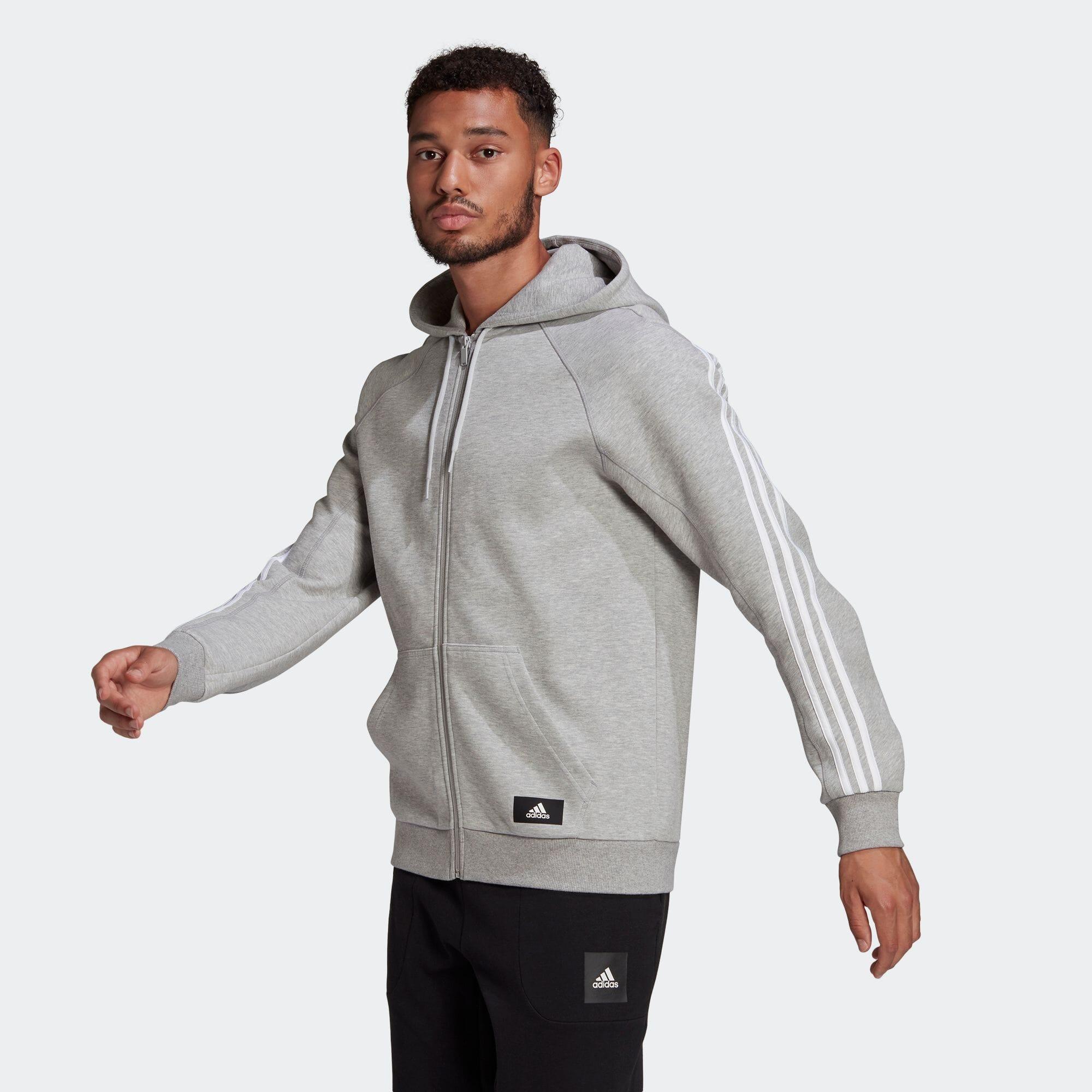 アディダス スポーツウェア 3ストライプス フード付きトラックトップ / adidas Sportswear 3-Stripes Hooded Track Top