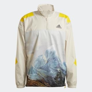 アディダス スポーツウェア マウンテングラフィック ハーフジップ スウェットシャツ / adidas Sportswear Mountain Graphic Half-Zip Sweatshirt