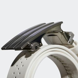 フリーアジャスタブルベルト / 3-Stripe Buckle No-Hole Belt