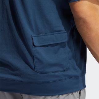 ソリッド 半袖スタンドカラースウェット / Short Sleeve Wind Jacket