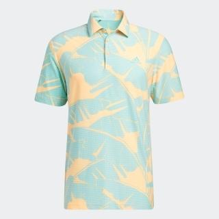 ボタニカルプリント 半袖シャツ / Vibes Print Polo Shirt