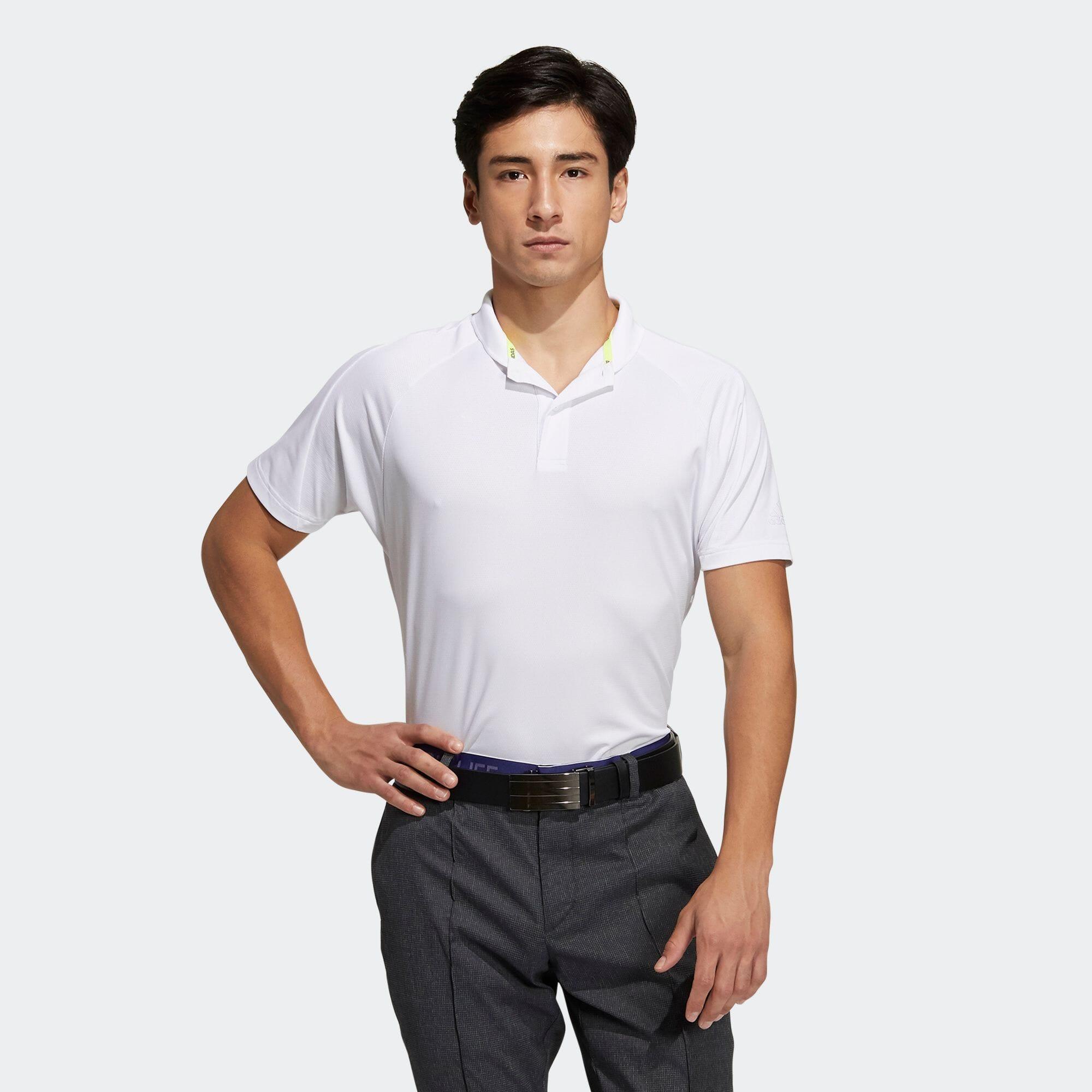 ソリッド 半袖ショールカラーポロ 【ゴルフ】/ Polo Shirt