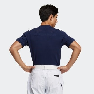 デボスディテール 半袖クルーネックシャツ  / Polo Shirt
