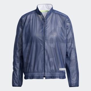ラミネーションプリント 長袖フルジップウインド / Statement Jacket