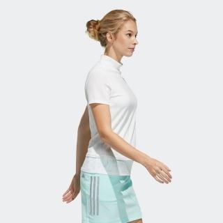 ファブリックミックス 半袖モックネックシャツ / Polo Shirt