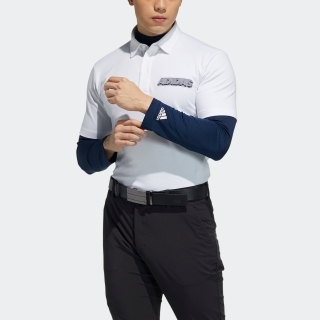 チェストロゴ レイヤードシャツ / Two-in-One Polo Shirt