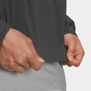 L/Sクルーネックフルジップジャケット