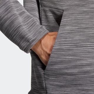 メランジ 長袖フルジップフーディー  / Hooded Sweatshirt