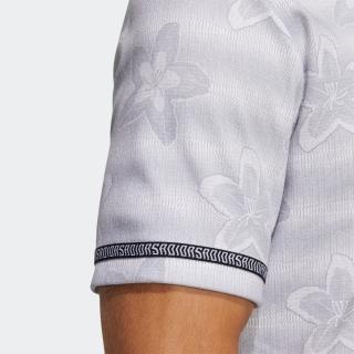フラワープリント 半袖シャツ / Polo Shirt