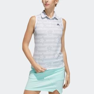 フラワープリント ノースリーブシャツ / Sleeveless Polo Shirt