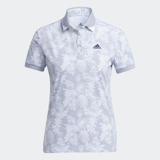 ボタニカルプリント 半袖ウーブンポロ / Polo Shirt