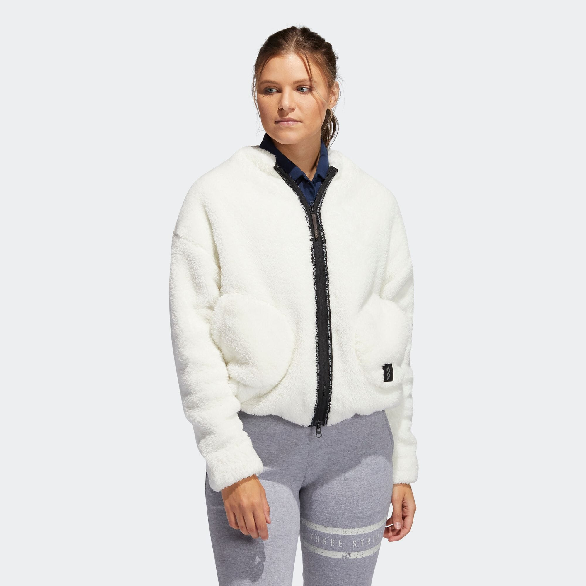 ADICROSS ボアフリース 長袖フルジップジャケット 【ゴルフ】/ Adicross Jacket