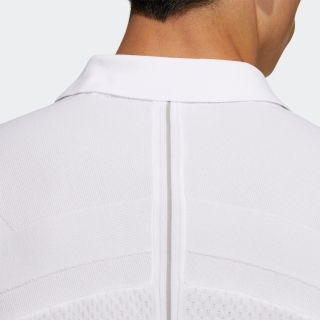 ジャカードスリーストライプス 半袖セーターポロ / Knit Polo Shirt