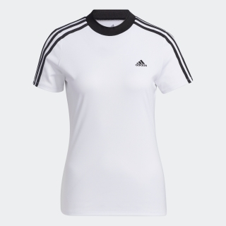 森田遥選手着用商品 スリーブストライプス 半袖モックネックシャツ / Color Crew T-Shirt