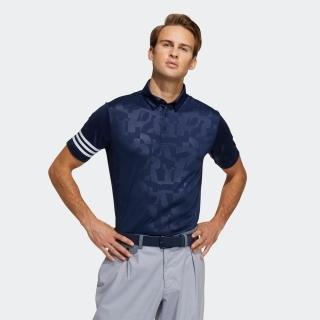 エンボスプリント 半袖ボタンダウンシャツ / Polo Shirt