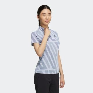 ADIDASプリント 半袖シャツ / Polo Shirt
