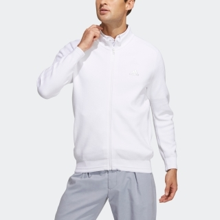 ソリッド 長袖フルジップセーター / Knit Jacket