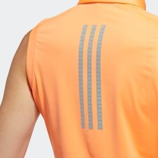 コントラストプラケット ノースリーブ ボタンダウンシャツ / Sleeveless Polo Shirt
