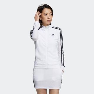スリーストライプス 長袖フルジップジャケット / Color Jacket